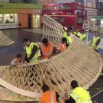 سازه Twist یک پروژه توسعه یافته توسط گروه Emtech (تکنولوژی های در حال گسترش)مدرسه AA می باشد که از چوب چند لایه برش خورده ساخته شده است.