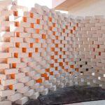 ساخت یک دیوار پارامتریک با استفاده از گرس هاپر و به صورت چیدمان دستی در کارگاه APX+201.3 در بلغارستان