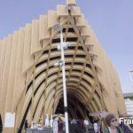 اکسپوی 2015 - فرانسه استفاده از ساختار وافل برای طراحی غرفه