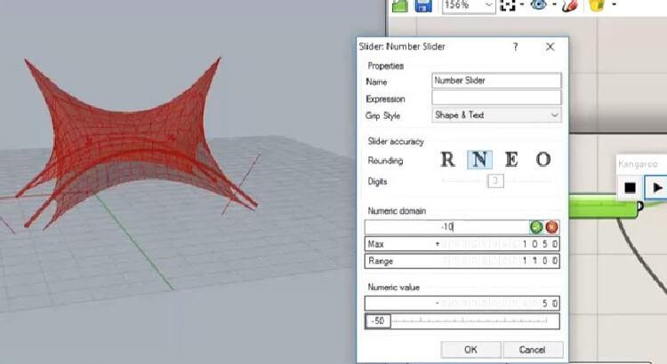 در این بخش به صورت کامل می آموزید که اصول مدلسازی سازه ی پارچه ای در کانگورو ۱ به چه شکلی است. مدلسازی ثقل ، باد ، ایجاد دکل ، قوس و نیروهای پایه ای کانگورو آموزش داده شده اند.