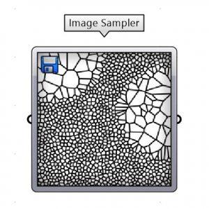 از این ابزار برای استخراج داده نقطه ای از تصویر استفاده می شود