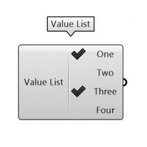 برای تعریف یک ظاهر متنی یا دلخواه برای مجموعه ای از داده ها استفاده می شود. می توانید برای هر داده ای که به عنوان خروجی تعریف می کنید یک معادل مشخص کنید