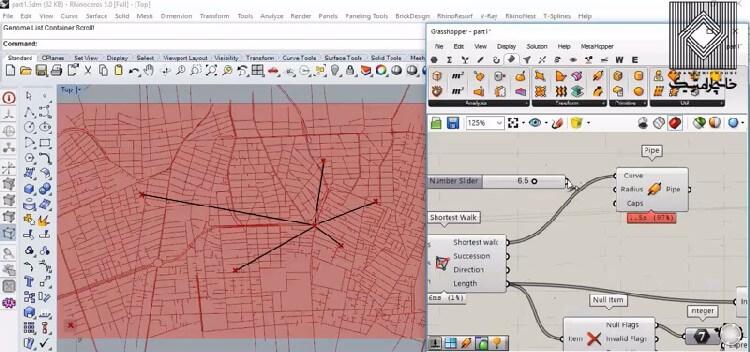 در این آموزش به منظور ورود به مبحث بهینه سازی موضوع پیدا کردن کوتاه ترین مسیر ممکن در یک شبکه شهری واقعی (تهران) آموزش داده می شود.