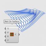این ابزار یک سری مجموعه منحنی به صورت بافت شبکه ای بر روی سطح ایجاد می کند. مشخصه این ابزار ایجاد منحنی های یکپارچه بر روی سطوح باز و بسته است. امکان تغییر جهت شبکه با تغییر نرمال سطح نیز وجود دارد. این ابزار در منوی Curve و بخش Spline قرار می گیرد.