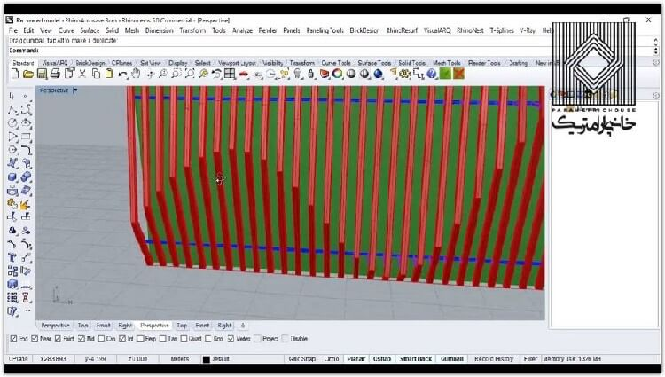 در این بخش نحوه کار بر روی نقاط و ایجاد سازه به همراه یک سری نکات دیتیلینگ آموزش داده می شود.