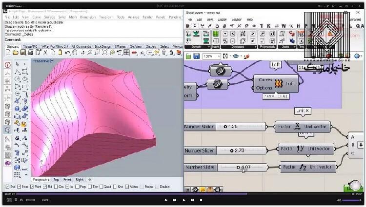 در این بخش جایگاه استفاده از تصویر و گراف برای تولید هندسه تشریح شده است.