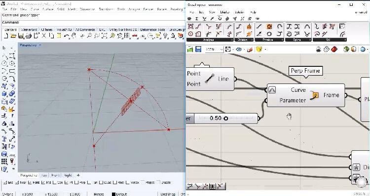 در این قسمت روند صفر تا صد ترسیم یک قوس دایروی با تناسبات دلخواه به صورت پارامتریک مدلسازی می شود.