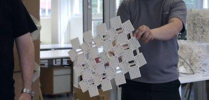 یک سری از دانشجویان معماری و مهندسی دانشگاه Aalto مصالح ساخت خود را قطعات Lego انتخاب کردند. لگو امکان ساخت سریع و حل مسائل پیچیده را در مسائل معماری فراهم می کند.