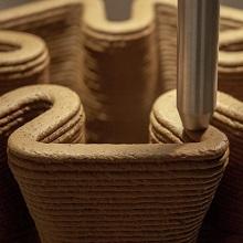پرینت سه بعدی با خاک به روش افزایشی