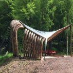 طراحی و ساخت کانوپی چوبی