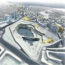 پایان نامه Shifting Gears: Exploring parametric design to renovate an urban waterfront به دو سوال پاسخ می دهد: طراحی پارامتریک چیست و چطور می توان از طراحی پارامتریک در معماری منظر بهره برد