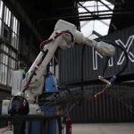 ساخت پل پارامتریک با کمک ربات و پرینتر سه بعدی