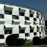 نمای متحرک فضای نمایشگاهی ساختمان kiefer technic