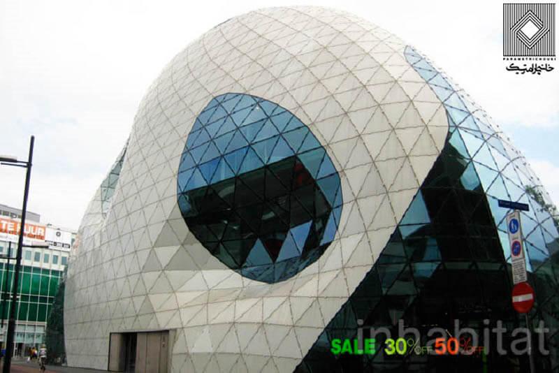 ساختمان The Blob - هلند