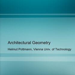 کتاب Architectural Geometry