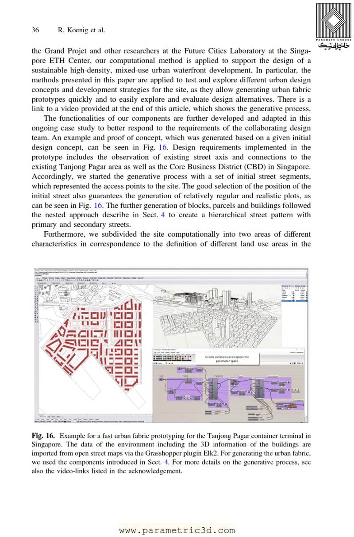 مقاله Interactive Urban Synthesis