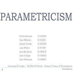 پارامتریسیسم