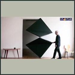 در با قابلیت تغییرشکل با مکانیزم مربع های چرخشی، طراح Klemens Torggler