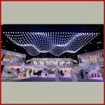 نورپردازی پارامتریک با لامپ های LED کروی، Build UP LLC