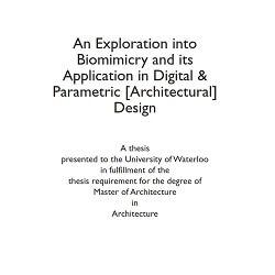 کتاب Biomimicry in Digital & Parametric Design