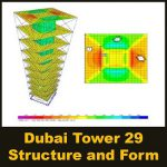 مقاله Dubai Tower 29, Structure and Form
