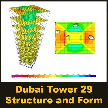 مقاله Dubai Tower 29, Structure and Form
