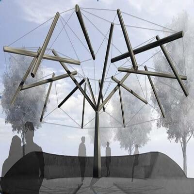 مقاله The Kent Tensegritree Project