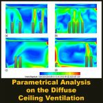 مقاله Parametrical Analysis on Diffuse Ceiling Ventilation