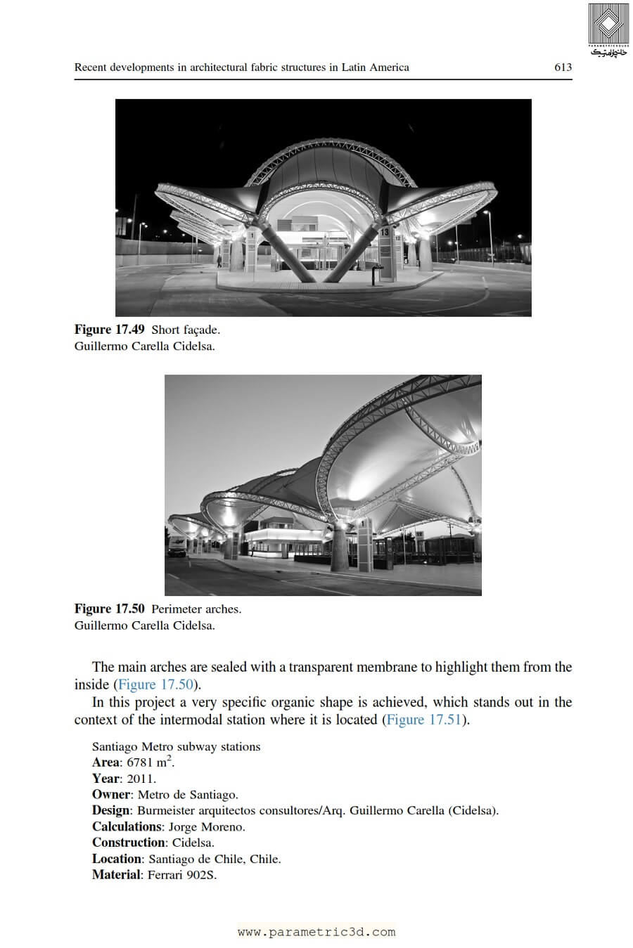 کتاب Fabric Structures in Architecture