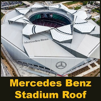 سقف متحرک موزه مرسدس بنز