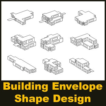 مقاله Building Envelope Shape Design