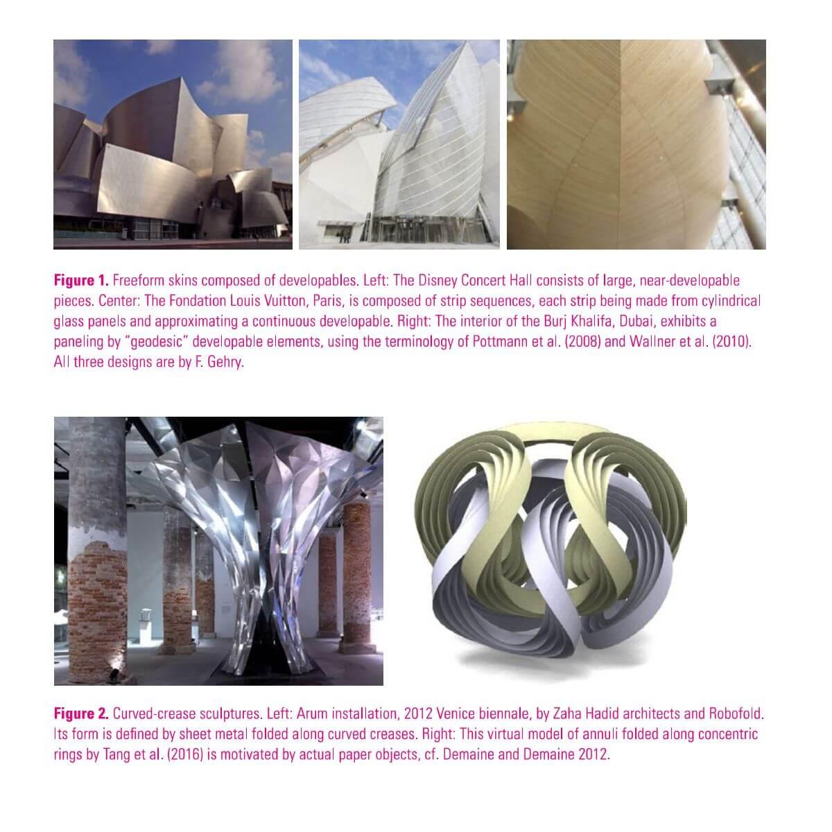 مقاله Curved Support Structures