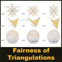 مقاله Fairness of Triangulations