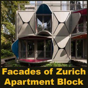 نمای بلوک ساختمانی زوریخ