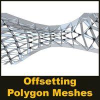 مقاله Offsetting Polygon Meshes