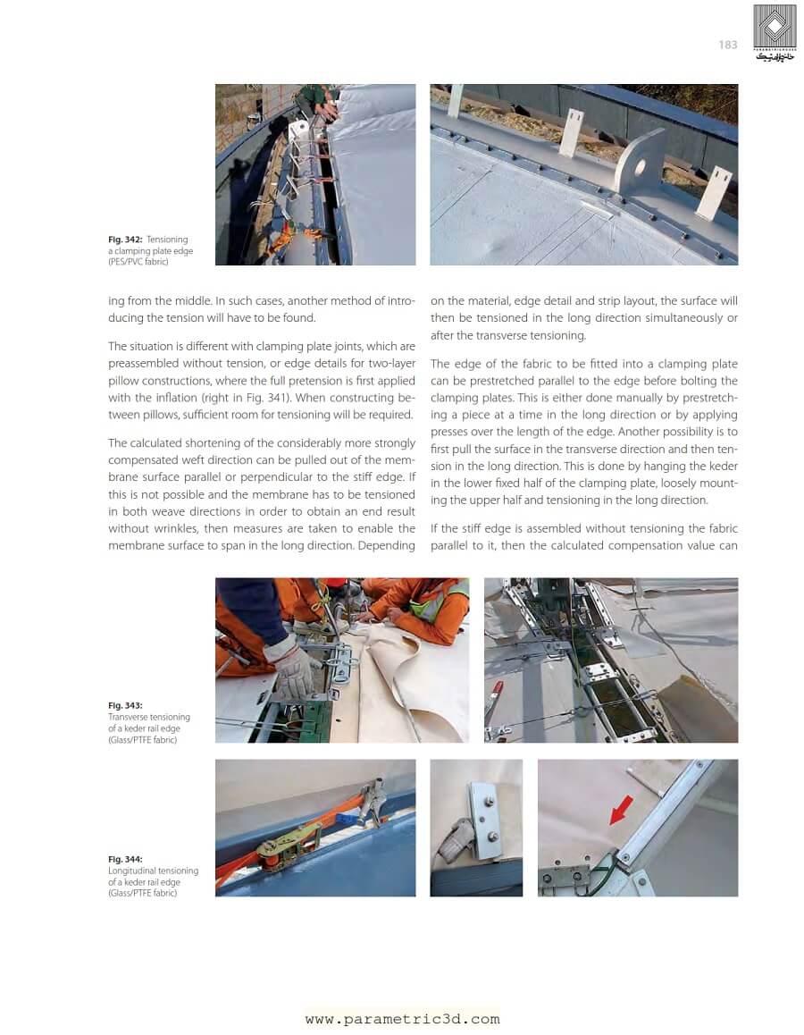 کتاب Tensile Surface Structures