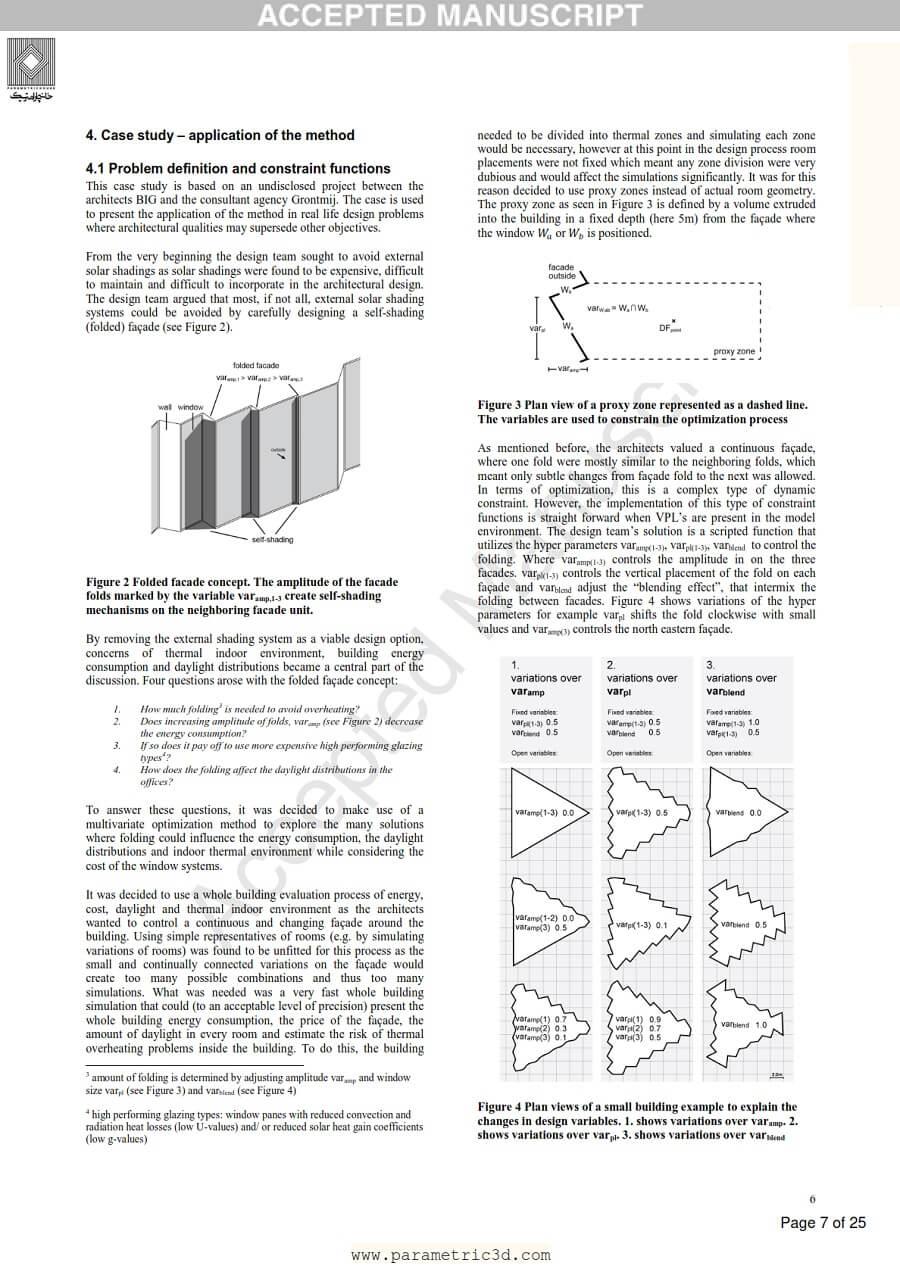 مقاله Building Energy Optimization
