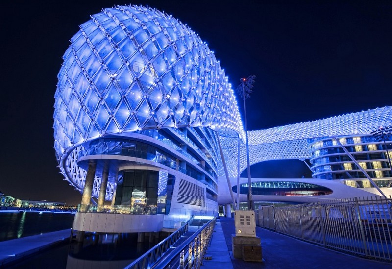 Architecture Projects #1- The Yas Hotel