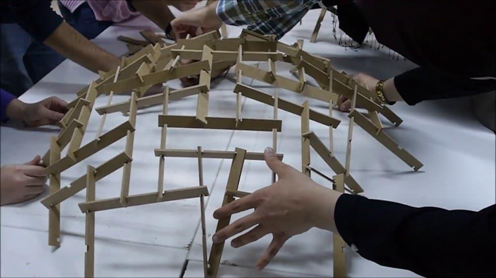 Architecture Design #2 - Reciprocal Frame Architecture