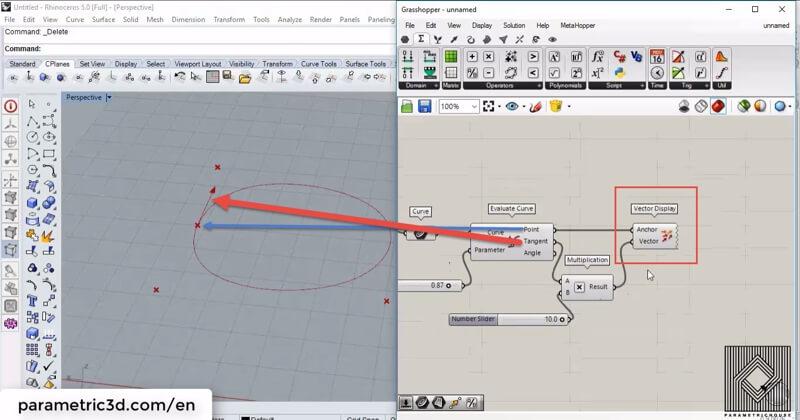 Evaluate Curve   Parametric House