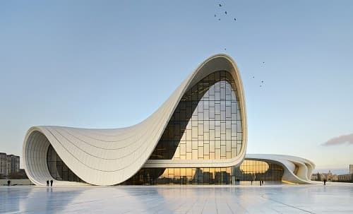 Architecture Projects #3 - Heydar Aliyev Centre