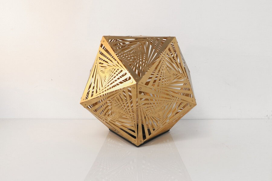 Wooden Table Lamp #3 - Laser Cutting Designs & Ideas