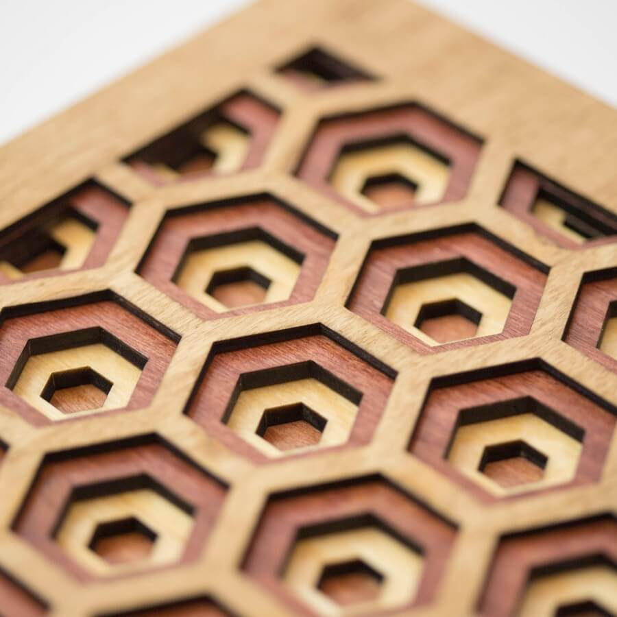 Wooden Wall Art #2 - Laser Cutting Designs & Ideas