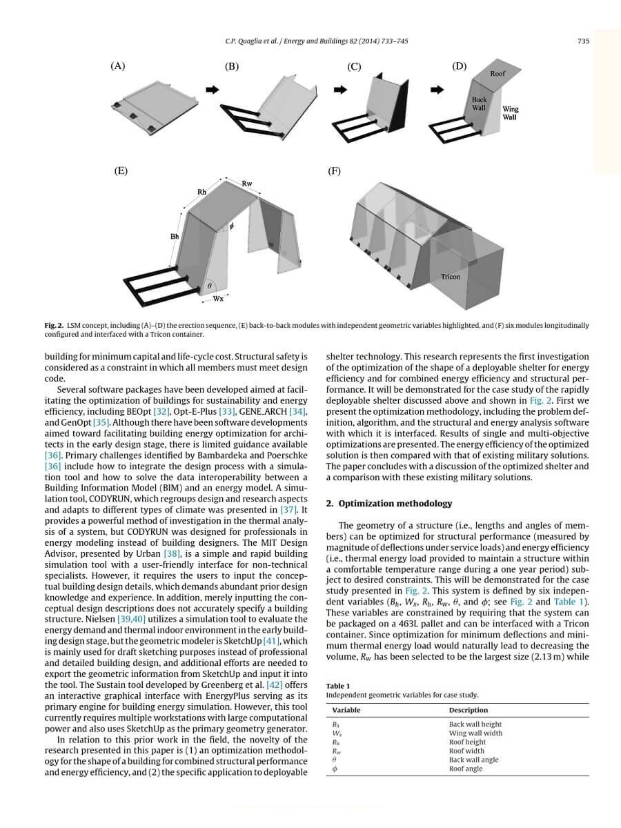 Origami Inspired Shelter