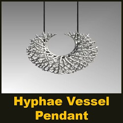 Hyphae - Vessel Pendant