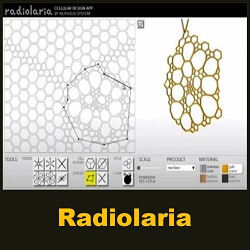 Radiolaria - a bio-inspired design app by Nervous System