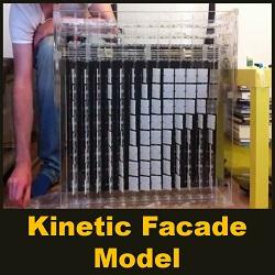 kinetic facade model