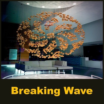Breaking Wave - kinetic sculpture