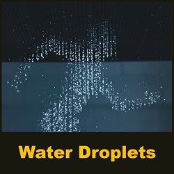 Water droplets create amazing human-like animations