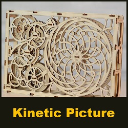 Kinetic PicKinetic Picture by WOODEN.CITYture